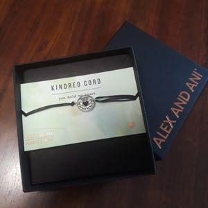 Sterling Silver Alex and Ani Adjustable Bracelet